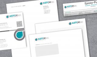 clever concept stellt ein Projekt vor: Projekt Corporate Design - ASTORtec - Briefschaften