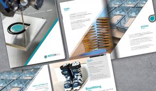 clever concept stellt ein Projekt vor: Projekt Corporate Design - ASTORtec - Broschüre