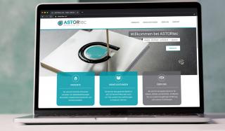 clever concept stellt ein Projekt vor: Projekt Corporate Design - ASTORtec - Website