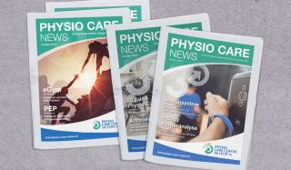 clever concept stellt ein Projekt vor: Projekt Magazin - Physio Care News