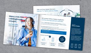 clever concept stellt ein Projekt vor: Projekt Mailing-Kampagne - EW Höfe - Flyer