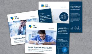 clever concept stellt ein Projekt vor: Projekt Mailing-Kampagne - EW Höfe - Serie