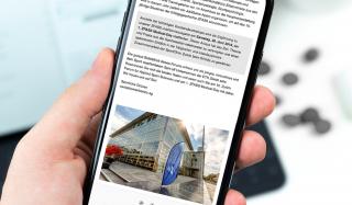 clever concept stellt ein Projekt vor: Projekt Newsletter - swissbiomechanics - Mobile