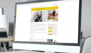 clever concept stellt ein Projekt vor: Projekt Webseite - Stiftsschule Einsiedeln - Desktop