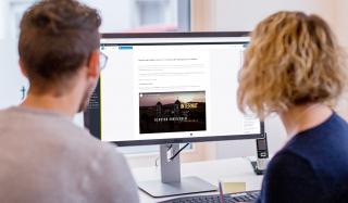clever concept stellt ein Projekt vor: Projekt Webseite - Stiftsschule Einsiedeln - Newsbeitrag